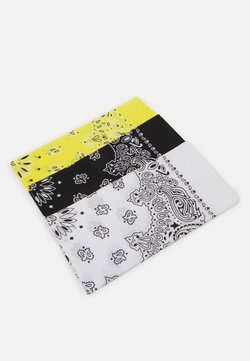 Urban Classics - BANDANA 3 PACK UNISEX - Tuch - black/yellow/white