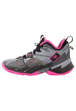 Jordan - WHY NOT ZER0.3 - Chaussures de basket - particle grey/pink blast/black/iron grey
