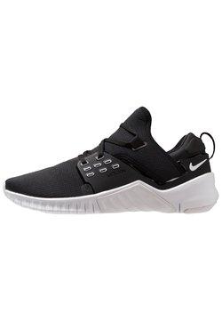 Nike Performance - FREE METCON 2 - Laufschuh Natural running - black/white