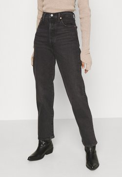 Levi's® - RIBCAGE STRAIGHT ANKLE - Jeans straight leg - black denim