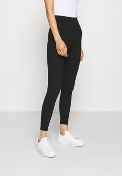 edc by Esprit - HIGH WAIST - Broek - black