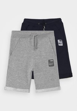 Blue Seven - SMALL BOYS  2 PACK - Shorts - nachtblau/nebel