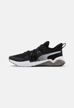 Puma - CELL FRACTION - Zapatillas de running neutras - black/white/castlerock