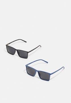 Jack & Jones - JACRECT SUNGLASSES 2 PACK  - Sunglasses - black/navy