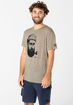 super.natural - SAILOR TEE - T-Shirt print - pistazie