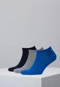 Puma - SNEAKER 3 PACK UNISEX  - Varrettomat sukat - blue / grey melange