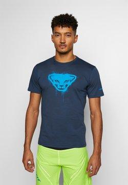Dynafit - GRAPHIC TEE - Camiseta estampada - midnight navy