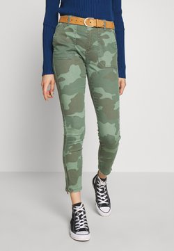 edc by Esprit - Jeans Skinny Fit - khaki green