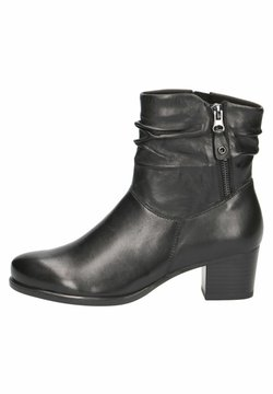 Caprice - STIEFELETTE - Ankle Boot - black soft nap