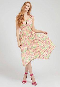 Guess - Cocktailkleid/festliches Kleid - mehrfarbig  gelb