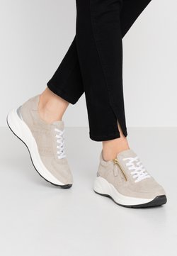 Anna Field - LEATHER SNEAKERS - Sneakers - beige
