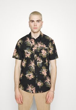 Volcom - FLORAL WITH CHEESE - Hemd - black
