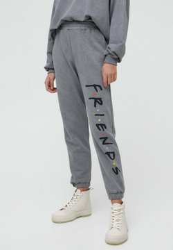 PULL&BEAR - FRIENDS - Jogginghose - grey