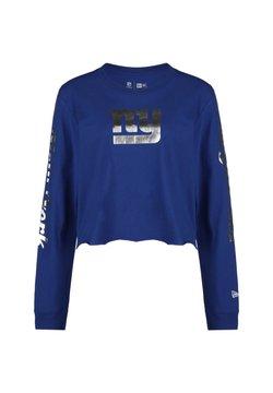 New Era - NFL NEW YORK GIANTS CROPPED LONGSLEEVE DAMEN - Funktionsshirt - blue