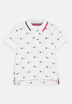 Tommy Hilfiger - BABY FLAG PRINTED UNISEX - Polo - white