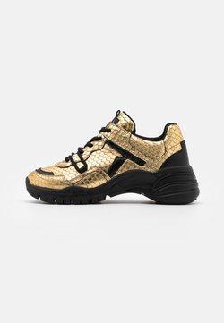 Toral - Sneakers laag - gold/black