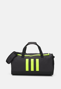 adidas Performance - DUFFLE M UNISEX - Sporttasche - dough solid grey/black/solar yellow