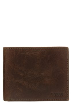 Fossil - DERRICK  - Lompakko - dark brown