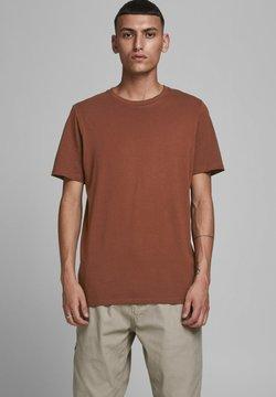 Jack & Jones - JJEORGANIC - Camiseta básica - chocolate fondant