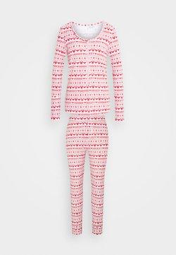 Cotton On Body - HENLEY LONG JOHN - Pigiama - red