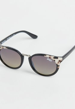 Superdry - AUBREY  - Gafas de sol - gloss black/tortoiseshell corner