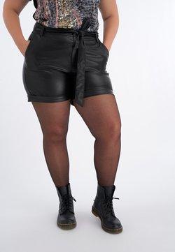 MS Mode - WITH TIE BELT - Short - black