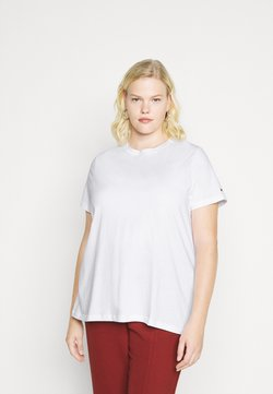 Tommy Hilfiger Curve - COOL TEE - T-Shirt basic - white