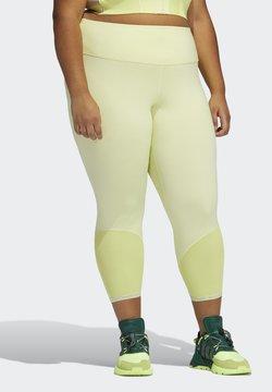 adidas Originals - Ivy Park Rib Panel  - Legging - yellow