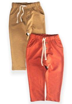Cigit - POCKET BUTTONED  PACK OF 2 - Pantalones deportivos - red