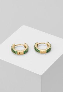 Orelia - CHUNKY HUGGIE HOOPS - Earrings - pale gold-coloured
