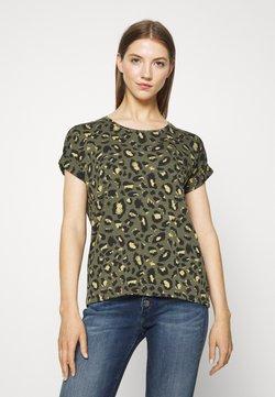 ONLY - Camiseta estampada - grape leaf/green