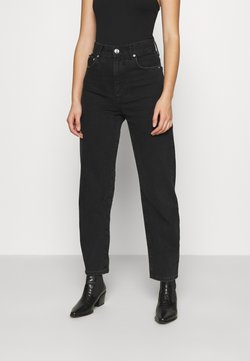 Gina Tricot - MOM - Relaxed fit -farkut - black