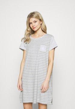 Lauren Ralph Lauren - SHORT NIGHTGOWN - Nachthemd - grey