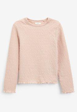 Next - SHIRRED LONG SLEEVE  - Pitkähihainen paita - pink