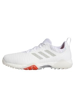 adidas Golf - CHAOS BOOST TRAXION GOLF SNEAKERS SHOES - Obuwie do golfa - white/grey