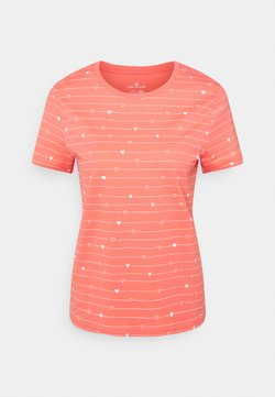 TOM TAILOR - T-Shirt print - red
