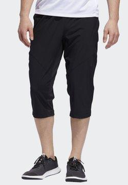 adidas Performance - CLIMACOOL 3/4 TRAINING TRACKSUIT BOTTOMS - Urheilucaprit - black