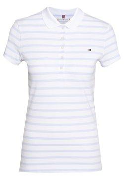 Tommy Hilfiger - SHORT SLEEVE SLIM STRIPE - Poloshirt - bliss blue
