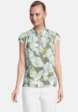 Betty & Co - Bluse - green/white