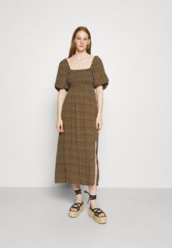 Gestuz - LONG DRESS - Freizeitkleid - brown