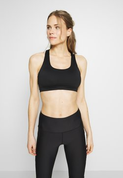 Cotton On Body - WORKOUT CUT OUT CROP - Urheiluliivit - black