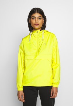 Calvin Klein Jeans - ESSENTIAL POP OVER - Windbreaker - solar yellow