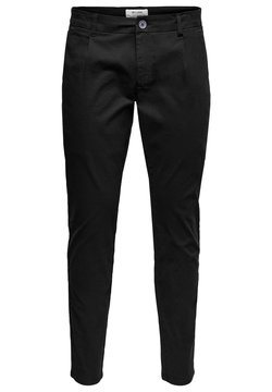 Only & Sons - EINFARBIGE - Chinot - black