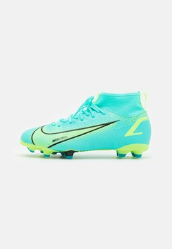 Nike Performance - MERCURIAL 8 ACADEMY MG UNISEX - Chaussures de foot à crampons - dynamic turquoise/lime glow