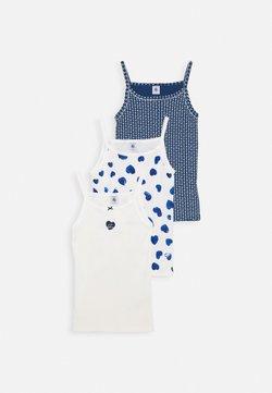 Petit Bateau - MULTIPACK HEART 3 PACK - Unterhemd/-shirt - blue/white