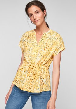 s.Oliver - Bluse - sunlight yellow aop