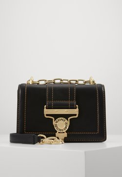 Versace Jeans Couture - MED BUCKLE - Torba na ramię - nero