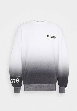 F_WD - Sweater - white/black