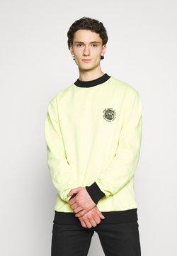 The Ragged Priest - CREWNECK GRAPHIC LOGO - Sweatshirt - yellow
