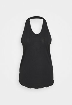 Nike Performance - YOGA CORE COLLECTION TANK - Toppi - black/smoke grey